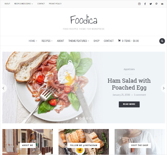 featured image free wordpress themes 20 best free WordPress themes for blogs