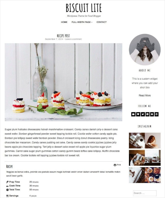 responsive design blog page 20 best free WordPress themes for blogs