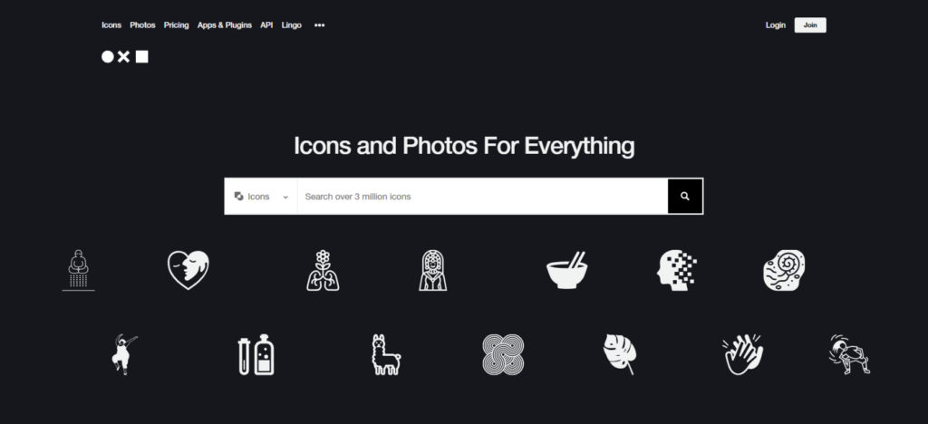 the noun project e1618284219851 1024x468 1 15 websites that provide free vector illustrations