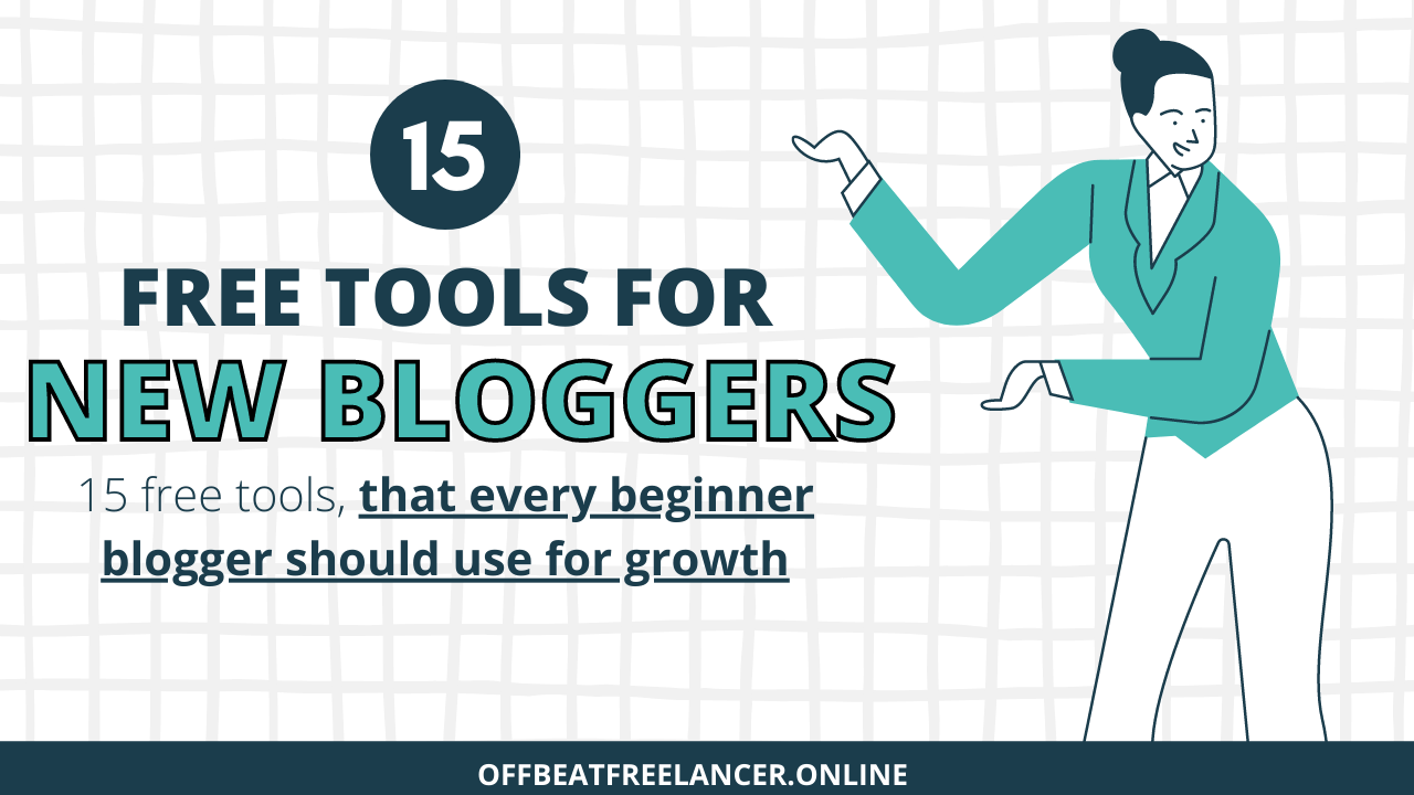 Copy of 7 ways to earn money blogging number 4 will surprise you 1 15 free blogging tools for beginners
