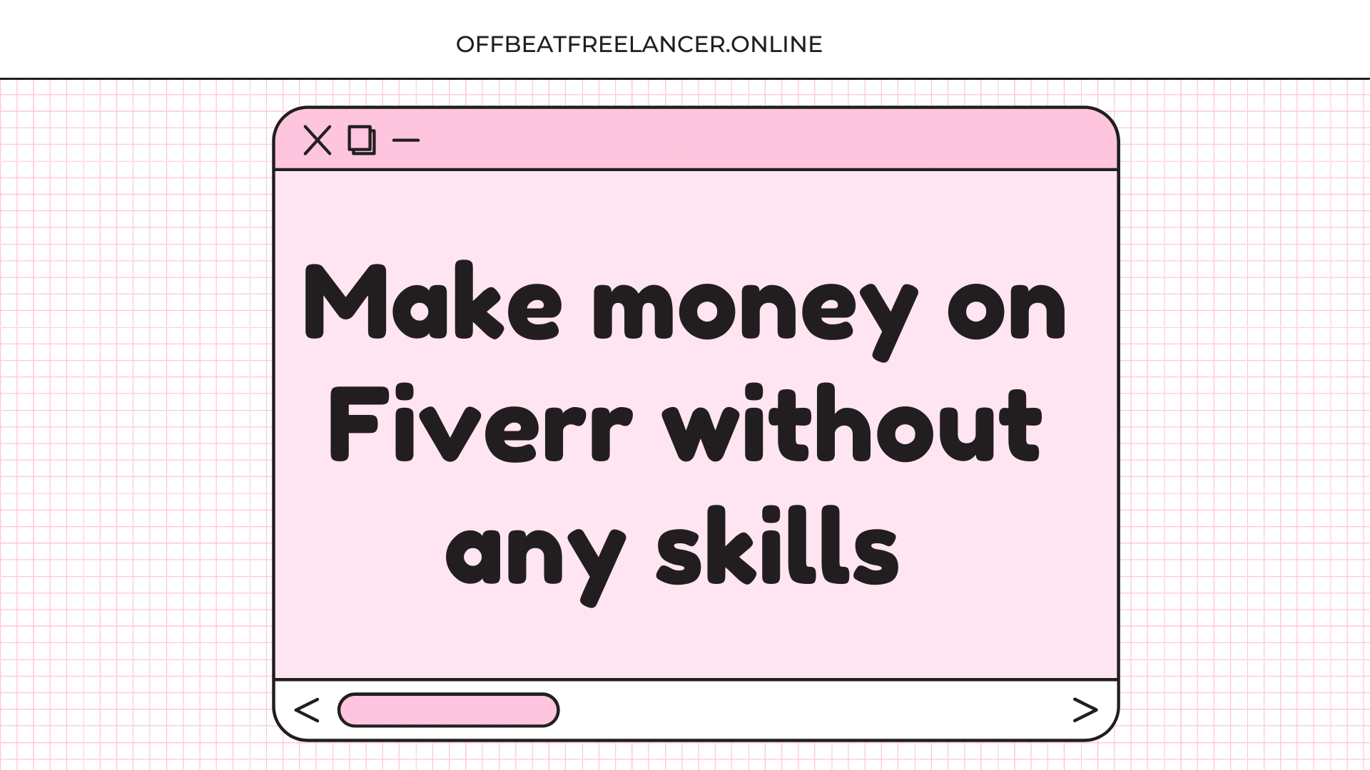 make money on fiverr without any skills Home